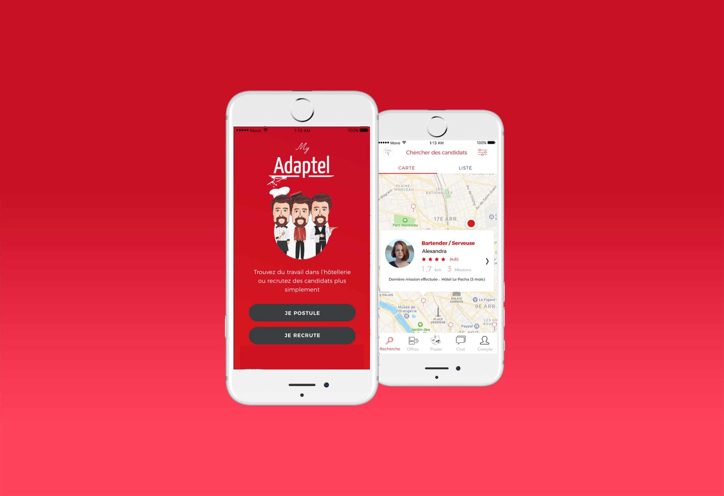 application adaptel