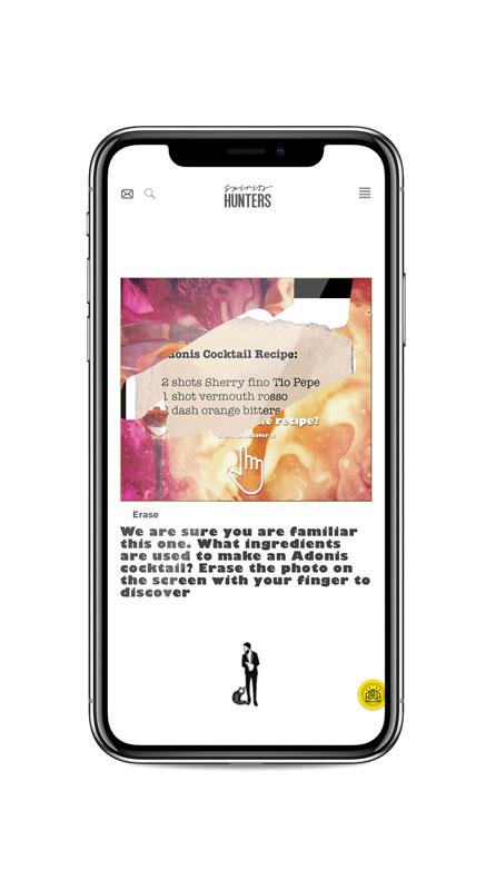 Application mobile spirits hunters