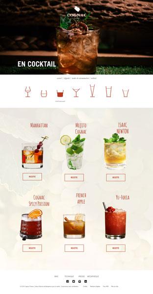 consommation cocktail cognac