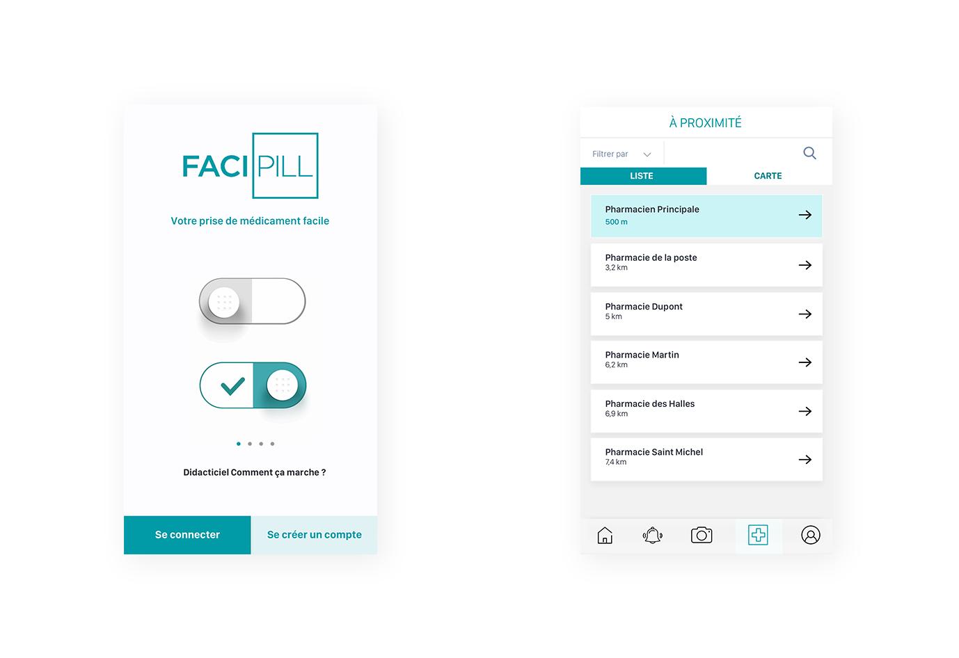 Application-facipill